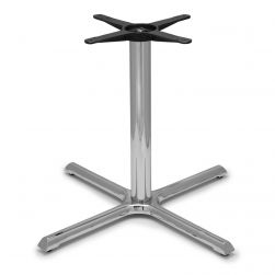 B36 Chrome Table Base