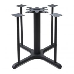 B36x5 Black Table Base