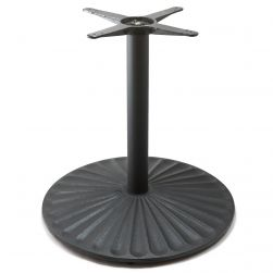 D28 Black Table Base