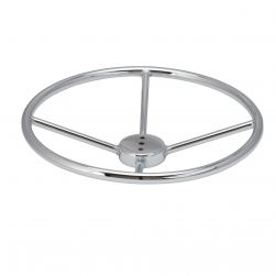 "22"" Diameter Chrome Plated Foot Rest"