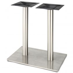 """RSQ1628 - Stainless Steel Table Base - Counter Height (34 3/4"""")"""