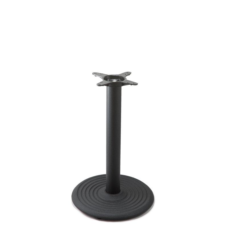 """I18 Black Table Base - Dining Height (28"""")"""