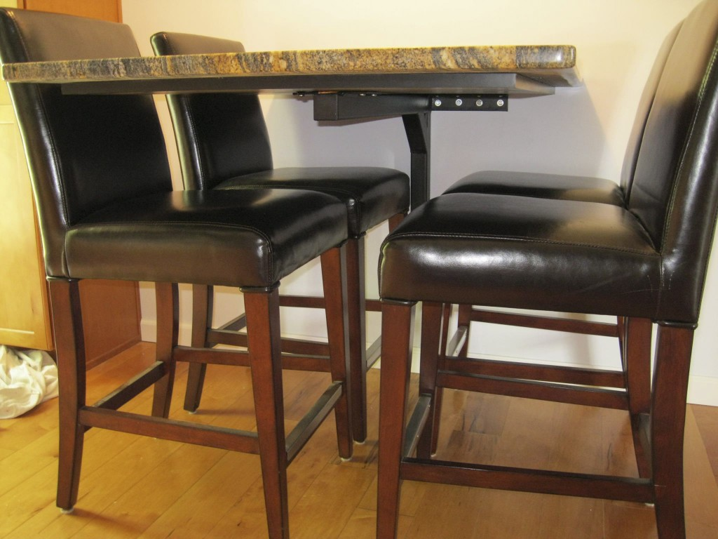 Save Space Cantilever Amp Bolt Down Table Bases